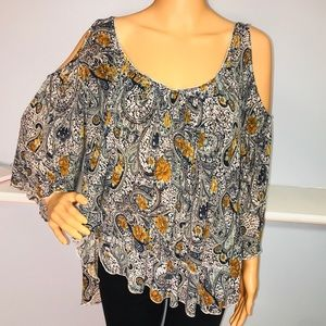Free people women's extra small boho chic top